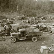 Asisbiz Captured Soviet supplies at Rautalahti on 21st Aug 1941 38217