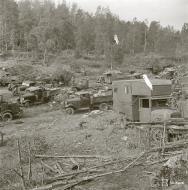 Asisbiz Captured Soviet supplies at Rautalahti on 21st Aug 1941 38218