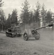 Asisbiz Estonian volunteer artillery company (PstKoulK) Komsomolets T20 en route to Huuhanmaki 6th Jun 1944 153224