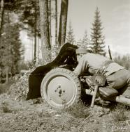 Asisbiz Estonian volunteer artillery company (PstKoulK) near Huuhanmaki 6th Jun 1944 153231