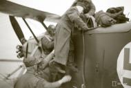 Asisbiz Finnish Air Force liaison aircraft arrives to ferry wounded from Nuosjarvi 9th Sep 1941 47714
