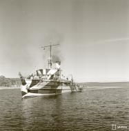 Asisbiz Finnish Navy gunboat Turunmaa off the Finnish coast 26th May 1942 89874