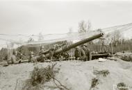 Asisbiz Finnish RTR2 Coastal Artillery Regiment 2 deployed 75.2mm guns on the shores of Kellomaki Ino 11th May 1942 88662