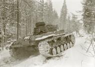 Asisbiz Finnish and German Panzer III forces advance along the Kiestinki road towards Jelettijarvi 5th May 1942 86090