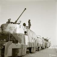 Asisbiz Finnish armored train equipped for anti aircraft and coastal protection seen at Aanislinna 18th Feb 1942 77547