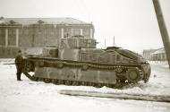 Asisbiz Finnish army Unit 9438 (E PsKoulK) with their restored Soviet T28 tank around Aanislinna 30th Jan 1944 145401