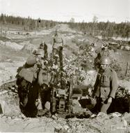 Asisbiz Finnish army anti aircraft flak battery Sankajoki 23rd Sep 1941 51090