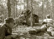 Asisbiz Finnish army anti tank position at Niinisalo 1st Jul 1942 96318