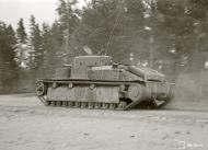 Asisbiz Finnish army using captured Soviet T28 and T26 tanks advance towards Vitele 11th Sep 1941 43879