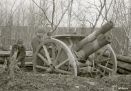 Asisbiz Finnish artillery position at Syvari 11th May 1942 87715