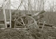 Asisbiz Finnish artillery position at Syvari 11th May 1942 87718