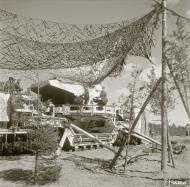Asisbiz Finnish rail battery deployed at Seivasto Suursaari 25th Apr 1942 84506