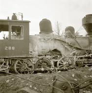 Asisbiz Finnish rail supplies destroyed by a Soviet air raid on the Kemi railway yard 10th Oct 1941 165388