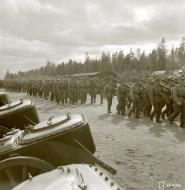 Asisbiz Finnish troops mobilizing around Huuhanmaki 28th May 1943 128543