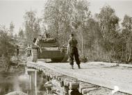 Asisbiz German Panzer II tanks moving to the front lines Vasonvaara 1st Jul 1941 23131