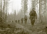 Asisbiz German Wehrmacht Gebirgsjagers during their attack near Louhi heading to Jelettijarvi 15th May 1942 88779