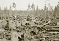 Asisbiz Scrapyard containing various Soviet vehicles dumped at Hanko 20th Aug 1942 105655