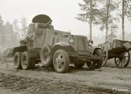 Asisbiz Soviet BA10 armored car neutralized with 5 hits to its engine east of Omelia 26th Jul 1941 28527