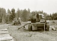 Asisbiz Soviet BT7 tanks destroyed around Koivikkomaki 30th Jul 1941 31995