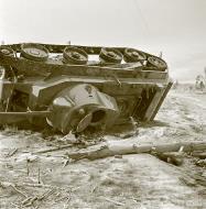 Asisbiz Soviet BT7M tank knocked out near the cemetery at Sallan 16th Oct 1941 58410