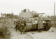 Asisbiz Soviet KV1 tank booby trapped but captured at Aleksandrovka 19th Sep 1941 51403
