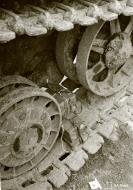 Asisbiz Soviet KV1 tank booby trapped but captured at Aleksandrovka 19th Sep 1941 51405