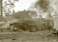 Asisbiz Soviet KV1 tank destroyed at Jessoila 1st Sep 1941 43948