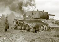 Asisbiz Soviet KV1 tank destroyed at Jessoila 1st Sep 1941 43949