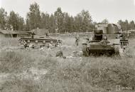 Asisbiz Soviet T26 tanks destroyed around Koivikkomaki 30th Jul 1941 30611