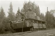 Asisbiz Soviet T28 33 ton tank destroyed south of Lake Nuosjarvi 5th Sep 1941 44656