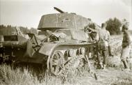Asisbiz Soviet flamethrower tank destroyed at Enso Raihla village 20th Jul 1941 30211