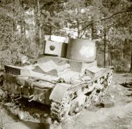 Asisbiz Soviet tank knocked out around Sairala 17th Aug 1941 37693