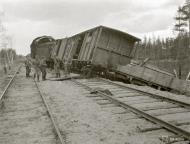 Asisbiz Soviet train halted at Gavrilovo was part of the Saint Petersburg Vyborg railroad 29th Aug 1941 110986