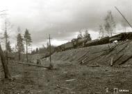 Asisbiz Soviet train halted at Gavrilovo was part of the Saint Petersburg Vyborg railroad 29th Aug 1941 110987
