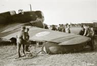 Asisbiz FAF Ilyushin DB 3 DB16 after being damaged by flak Lappeenranta 13th Jul 1944 03