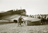 Asisbiz FAF Ilyushin DB 3 DB16 after being damaged by flak Lappeenranta 13th Jul 1944 04