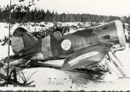 Asisbiz FAF captured Polikarpov I 16 coded IR101 powered by Shvetsov M 25 Finland 01