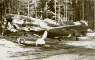 Asisbiz Finnish airforce LaGG 3 35 series Lelv32 LG3 based at Nurmoila late 1942 02