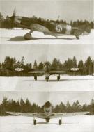 Asisbiz Finnish airforce LaGG 3 35 series Lelv32 LG3 based at Nurmoila late 1942 06