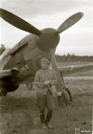 Asisbiz Finnish airforce LaGG 3 35 series Lelv32 LG3 based at Nurmoila late 1942 141153