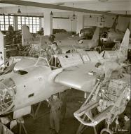 Asisbiz Finnish factory recycling crashed Soviet aircraft back into flying condition 9960