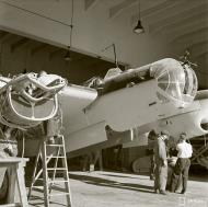 Asisbiz Finnish factory recycling crashed Soviet aircraft back into flying condition 9966