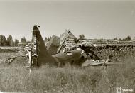 Asisbiz Soviet Ilyushin DB 3 crash site at Hovinmaa 13th Jul 1944 01