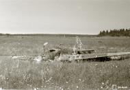 Asisbiz Soviet Ilyushin Il 2 Shturmovik crash site at Hovinmaa 13th Jul 1944 02