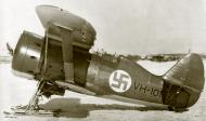 Asisbiz Soviet Polikarpov I 153 Red 12 captured and used by the FAF as VH101 25th Jun 1941 01