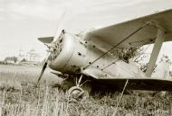 Asisbiz Soviet Polikarpov I 153 Red 12 captured and used by the FAF as VH101 25th Jun 1941 20615