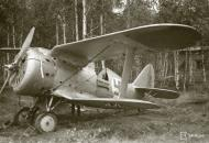 Asisbiz Soviet Polikarpov I 153 Red 12 captured and used by the FAF as VH101 25th Jun 1941 20660