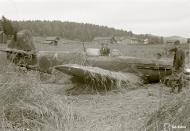 Asisbiz Soviet Yakovlev Yak 7 Red 38 belly landed Pitkarannan 9th Jul 1944 05