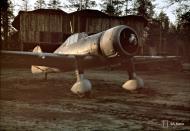 Asisbiz Fokker D XXI FAF 1.LeLv 12 FRxxx at Nurmoila Airport 14 17th Oct 1943 02