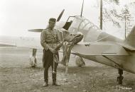 Asisbiz Fokker D XXI FAF 2.LeLv30 FR125 Tiiksjarvi Finland July 1941 79771